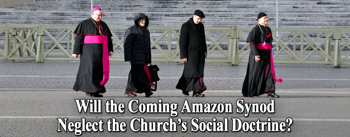 Will the Coming Amazon Synod Neglect the Church's Social Doctrine?