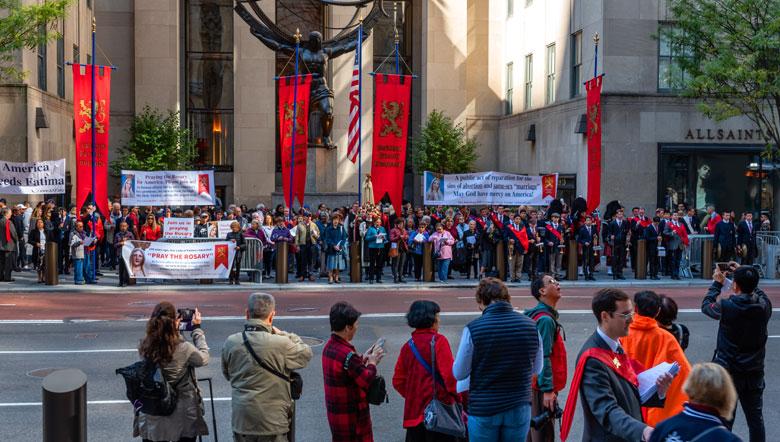 2019 Public Square Rosary Rally New York City