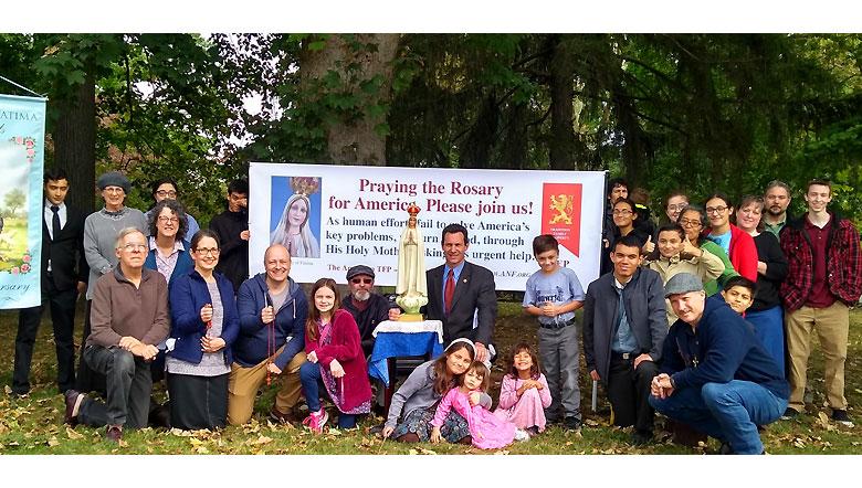 2019 Public Square Rosary Rally Lancaster, Pennsylvania