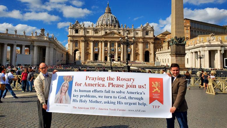 2019 Public Square Rosary Rally Vatican City, Vatican
