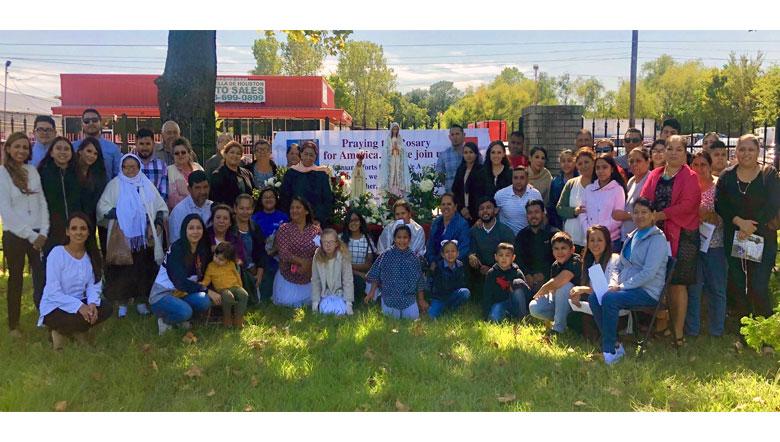 2019 Public Square Rosary Rally Houston, Texas