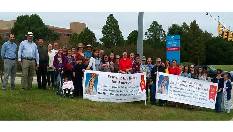 2019 Public Square Rosary Rally Baton Rouge, Louisiana