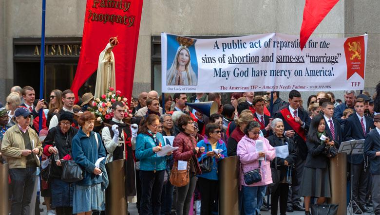 2019 Public Square Rosary Rally New York City, NY