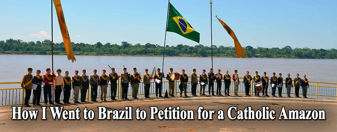 How I Went to Brazil to Petition for a Catholic Amazon