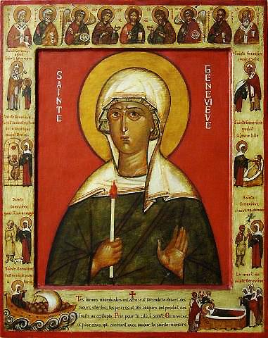 The Marvelous Story of Saint Genevieve