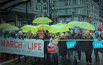 Severe Weather Didn't Stop Chicago March for Life