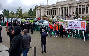 Mugged By Reality: Invoking Satan on the Steps of Washington State's Capitol