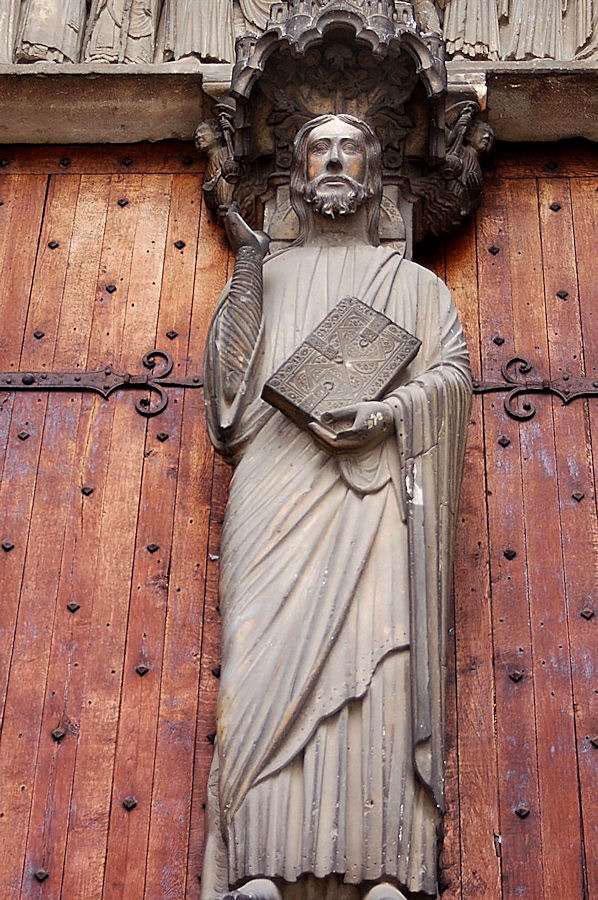 Beau Dieu d'Amiens, the Good God of Amiens