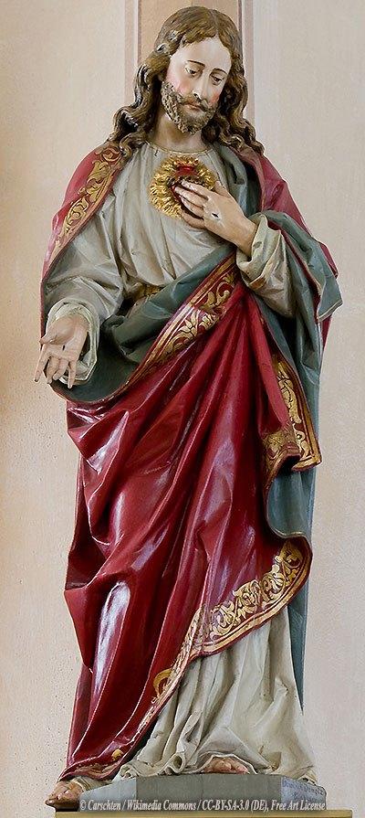 Sacred Heart of Jesus © Carschten