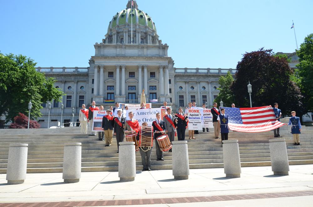 Prayerful Rally to Restore One Nation Under God in Harrisburg