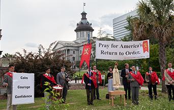TFP Caravan Prays in South Carolina in the Shadow of Unrest