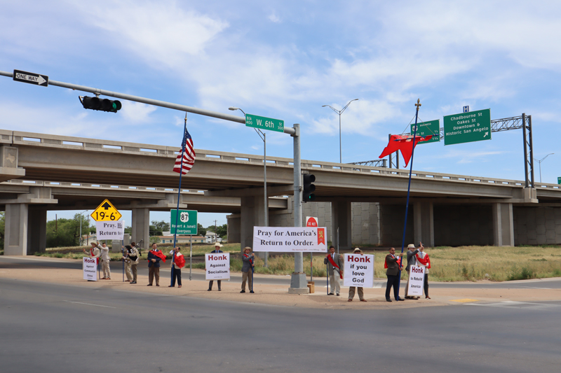 "TFP Caravan Spreads ""Return to Order"" Message Throughout the Lone Star State"