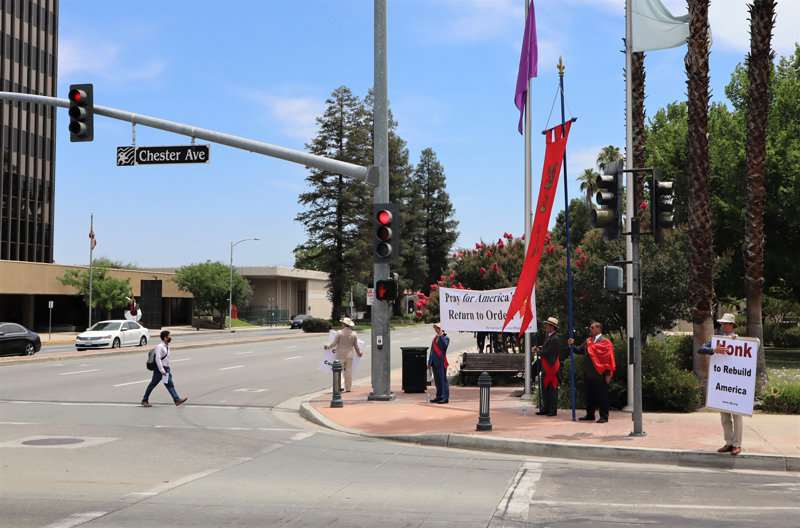 Overwhelming Support and Flying Projectiles Welcome TFP Caravan in California