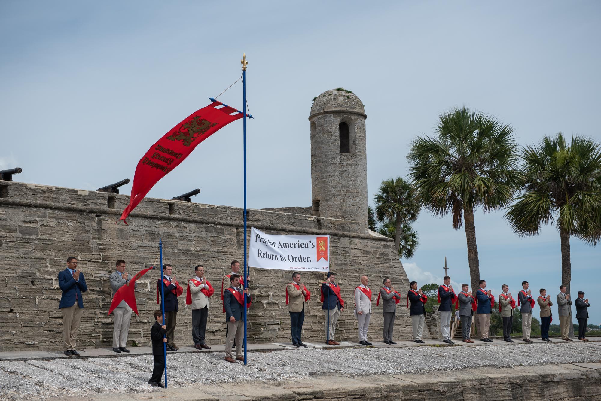 American TFP's Restore America Caravans Launched in St. Augustine