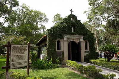 National Shrine of Our Lady of La Leche at Mission Nombre de Dios