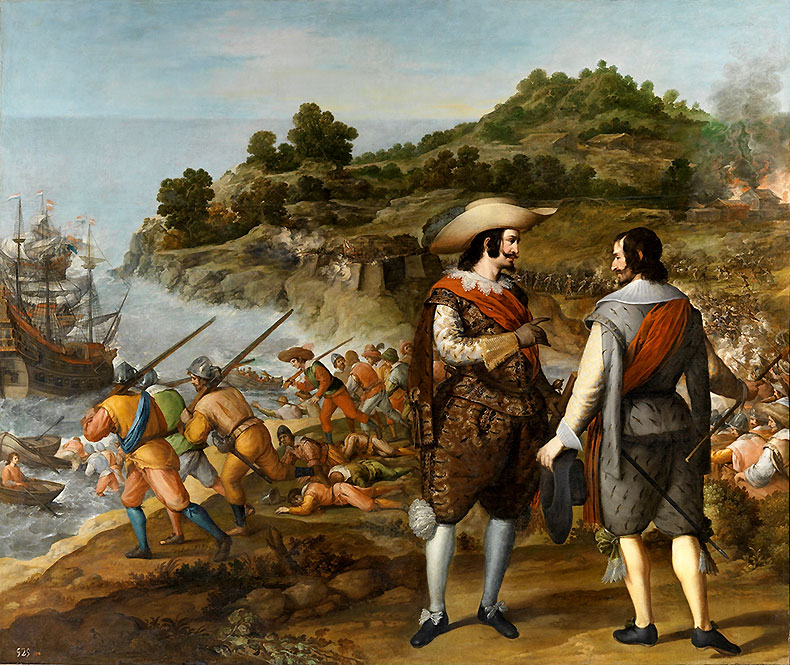 Captain-General Juan de Haro y Sanvitores begins the rebuilding of San Juan after the Danish forces abandon their month-long siege