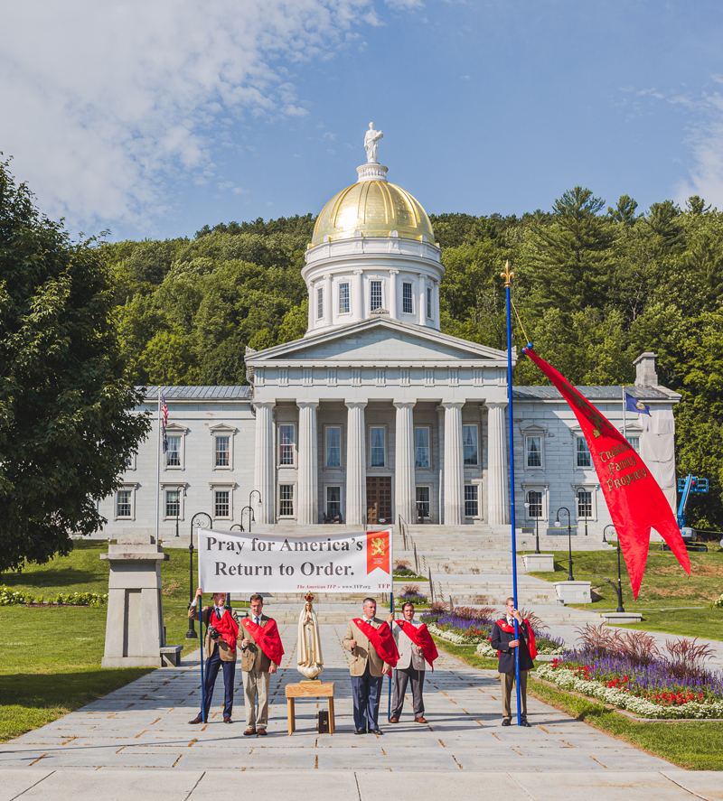 Bizarre Confrontation at Vermont Rally Shows Need for a Return to Order