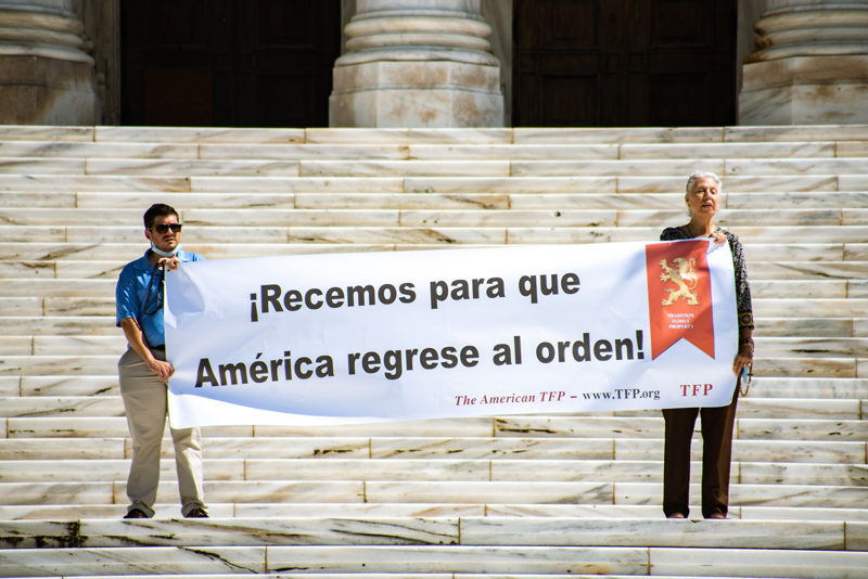 Rosary Rally in America's Oldest Capital City: San Juan, Puerto Rico