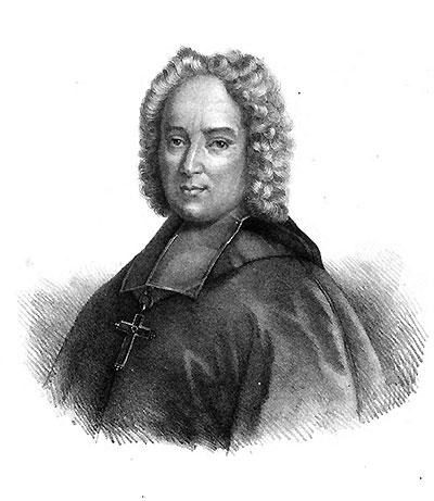 Bishop Henri François Xavier de Belsunce de Castelmoron