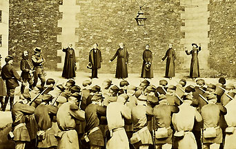 Clergy executed during the Paris Commune